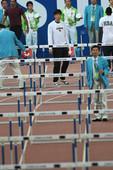 北京时间11月22日,第16届广州亚运会田径比赛进入第二比赛日争夺。在广东奥林匹克中心体育场,男子1...