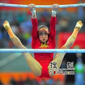 20101015-广州亚运会-体操-黄秋爽高低杠失误全记录