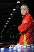 2008年北京奥运会乒乓球男子团体冠军成员马琳。