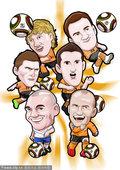 漫画:世界杯球星谱之荷兰