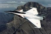 """""""阵风""""是法国达索飞机制造公司为满足法国海军和空军的需要,于八十年代中期开始研制的双发单/双座多用途..."""