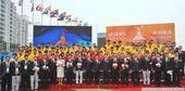 2010年11月5日,广州,亚运村正式开村,中国代表团率先入村。