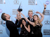 2009年11月22日,美国,洛杉矶:2009全美音乐奖(american music awards...