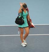 北京时间10月5日消息,总奖金450万美元的WTA皇冠赛——中国网球公开赛继续进行单打第二轮的争夺,...