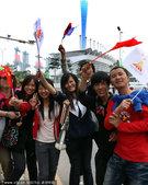 2010年11月4日,广州,2010亚运会前瞻,盛会临近场馆周边亚运气氛浓重。
