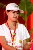 8月14日世贸天阶奥运畅爽活动现场(摄影:大海)